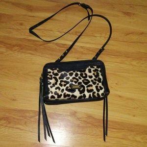 Joe's leather crossbody bag